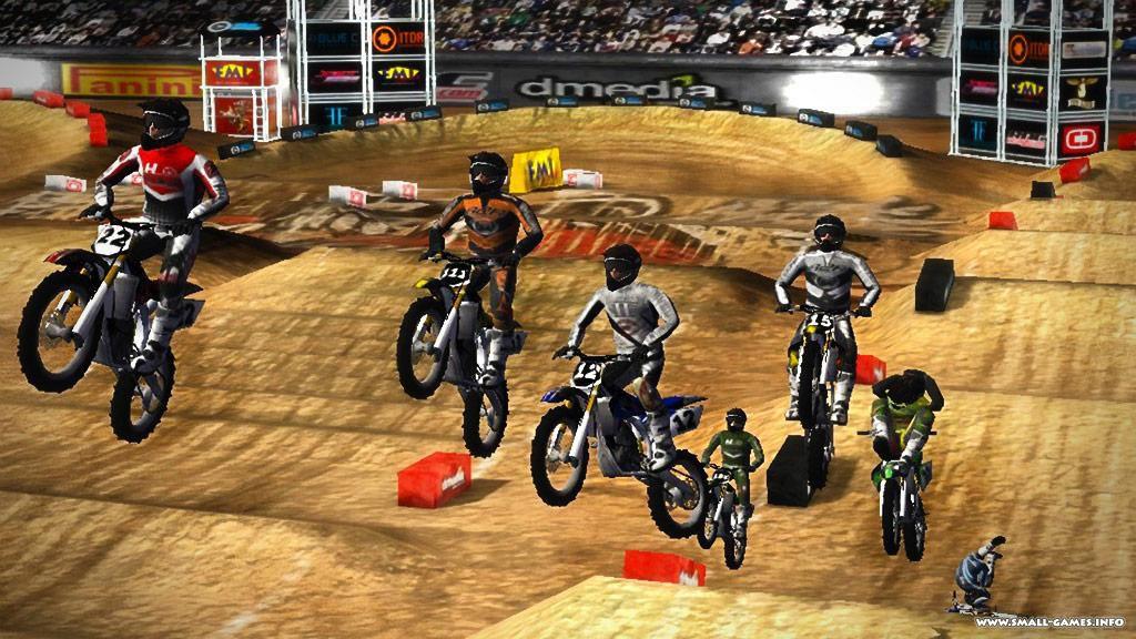 Скачать игру supercross на компьютер