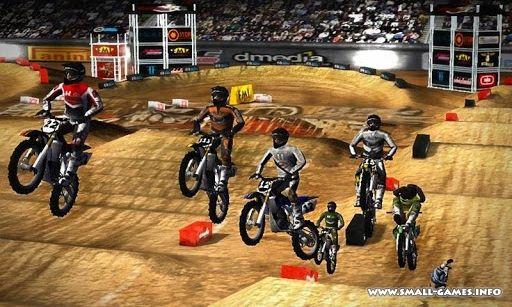 Игру На Кроссовых Мотоциклах