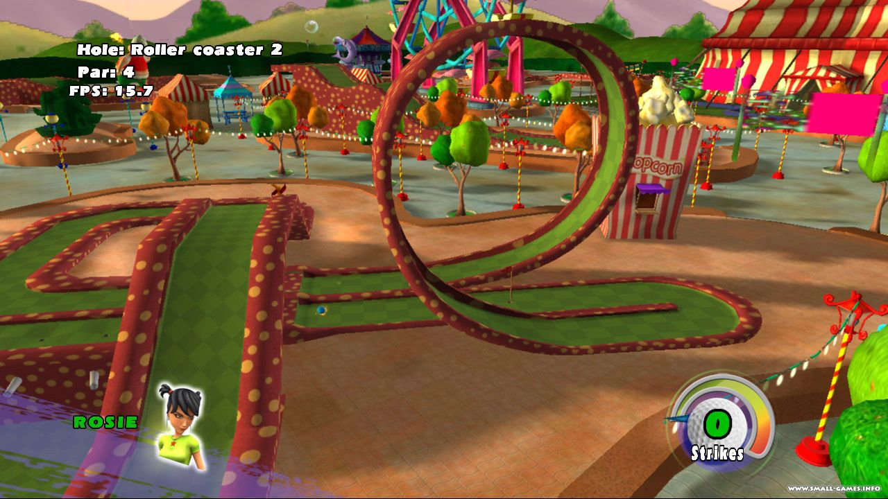 3d download game minigolf