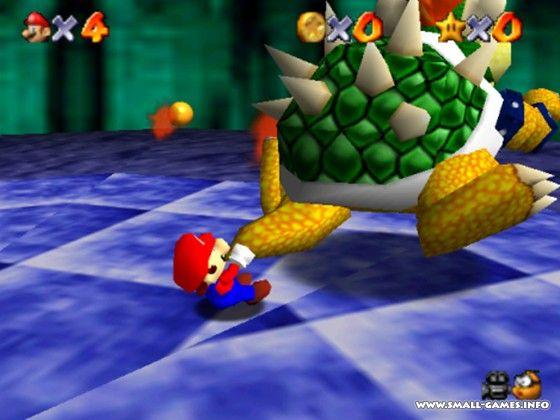 Игру Mario 3D