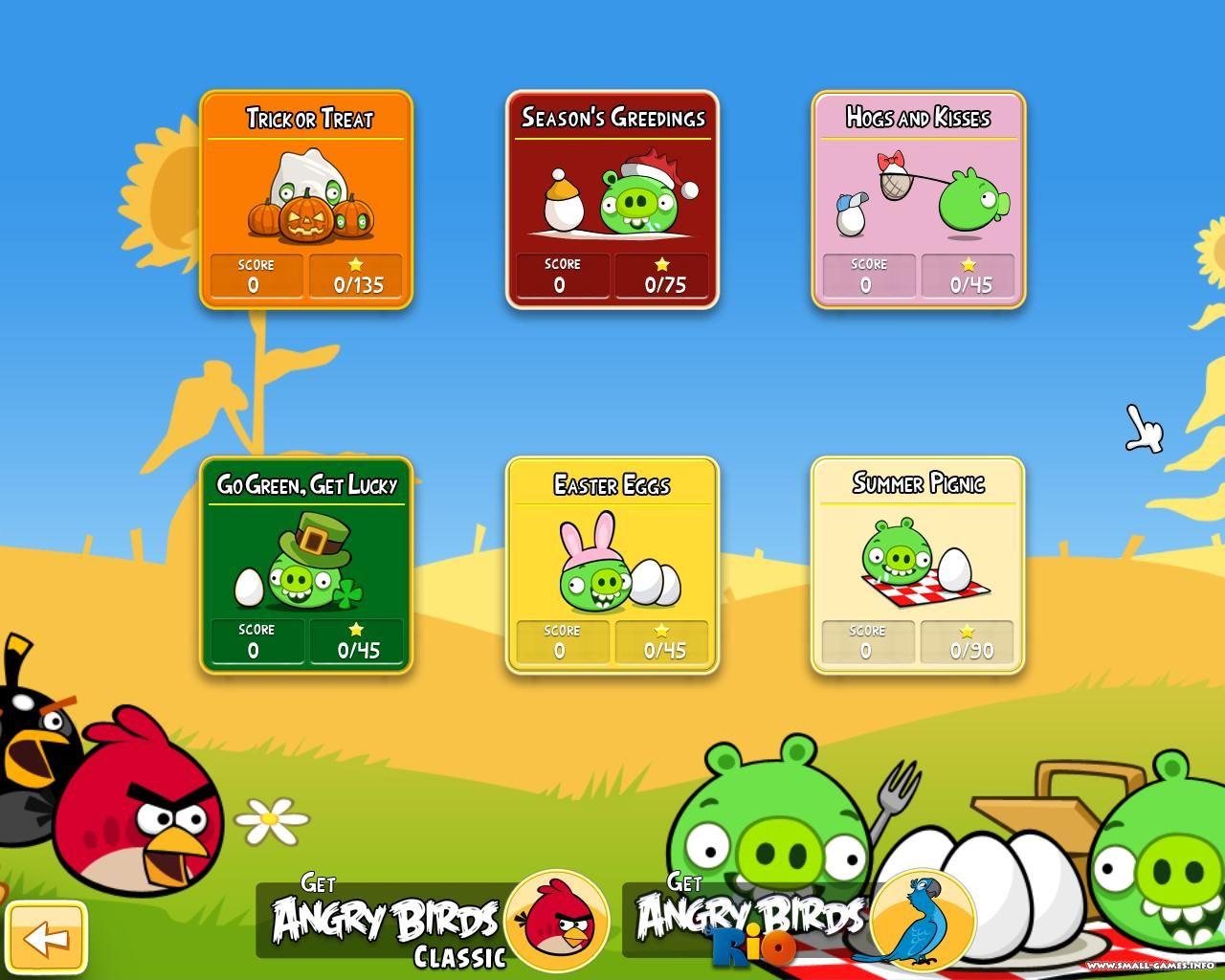 Angry Birds Seasons for PC v4.0.1 / +UKR