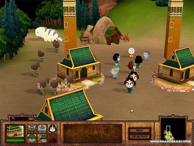 играть в аватар аанг: