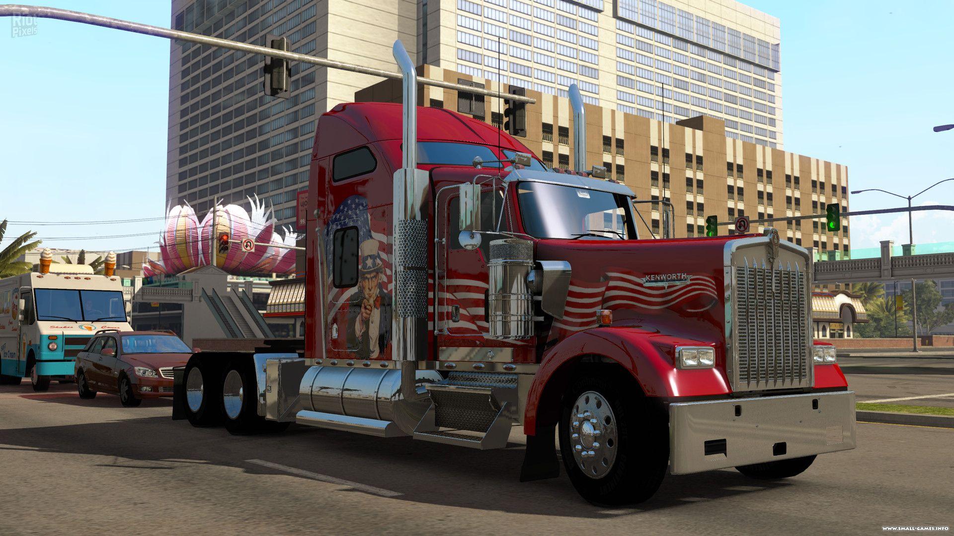 American Truck Simulator скачать Полную Версию