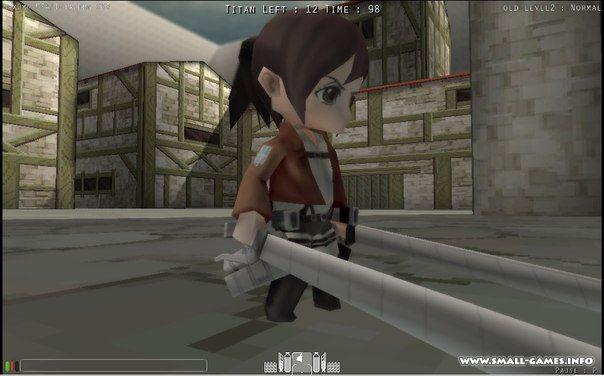 Скачать игру attack on titan: wings of freedom для pc через.