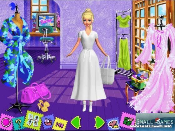 Barbie Fashion Show Computer Game