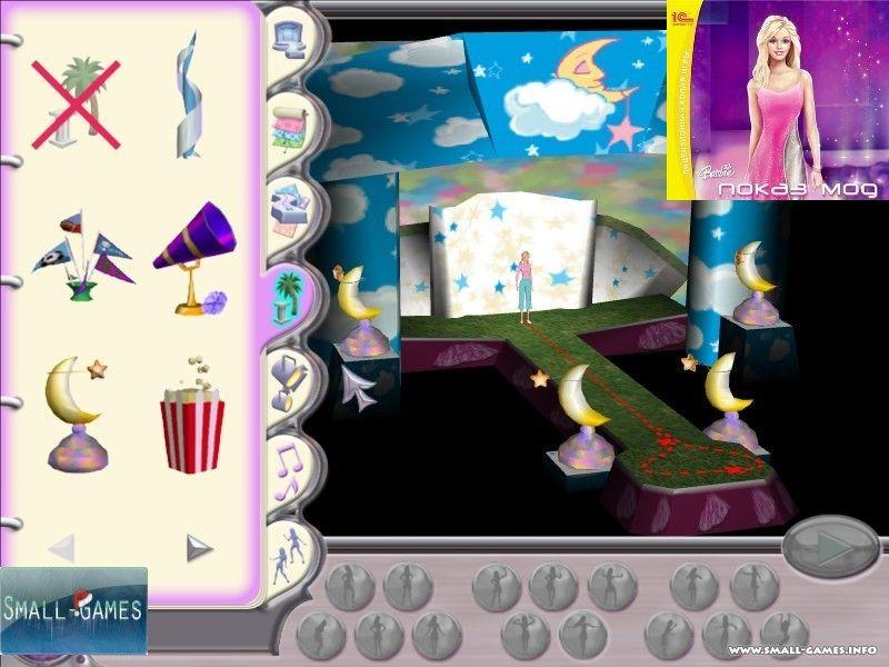 Барби. Показ мод » скачать бесплатно игры на babyuser.