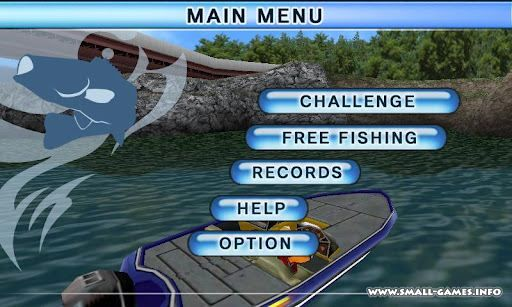 Bass fishing 3d on the boat v1 5 4 for Boat fishing games