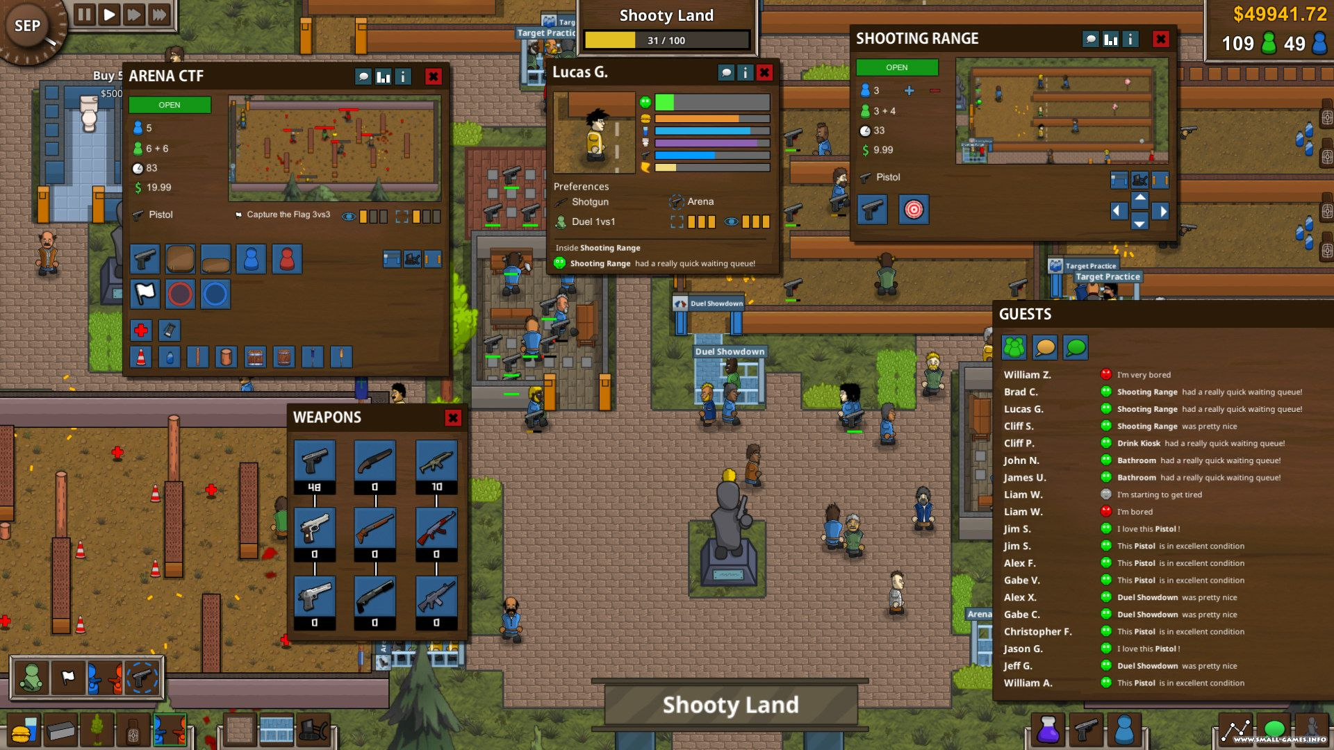 Battle Royale Tycoon v0.04 [Steam Early Access]