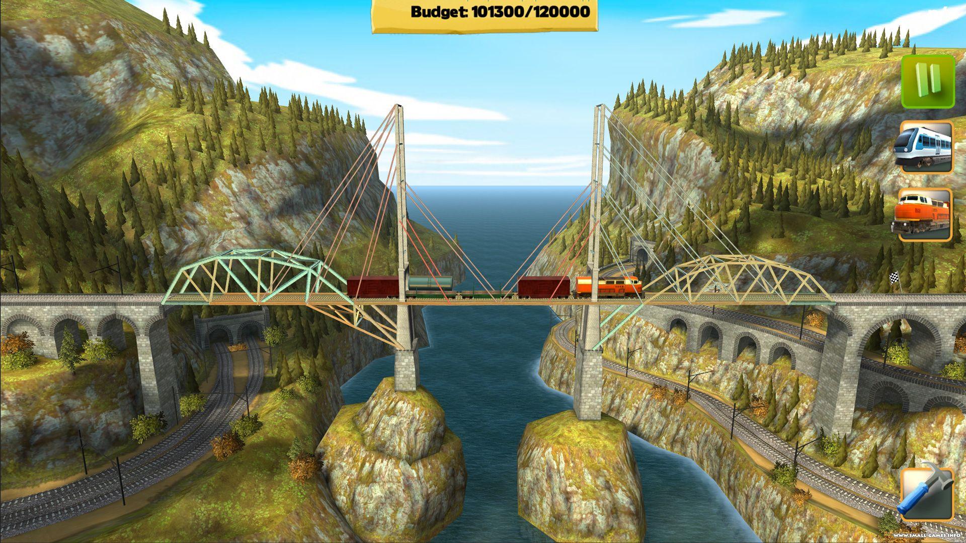 Скачать bridge constructor playground на пк