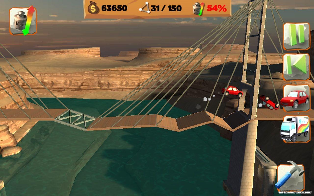 Bridge Constructor скачать Полную Версию