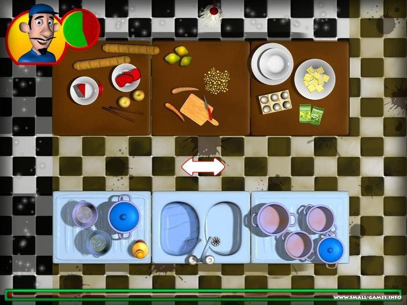 Turbo Games: Веселый повар.