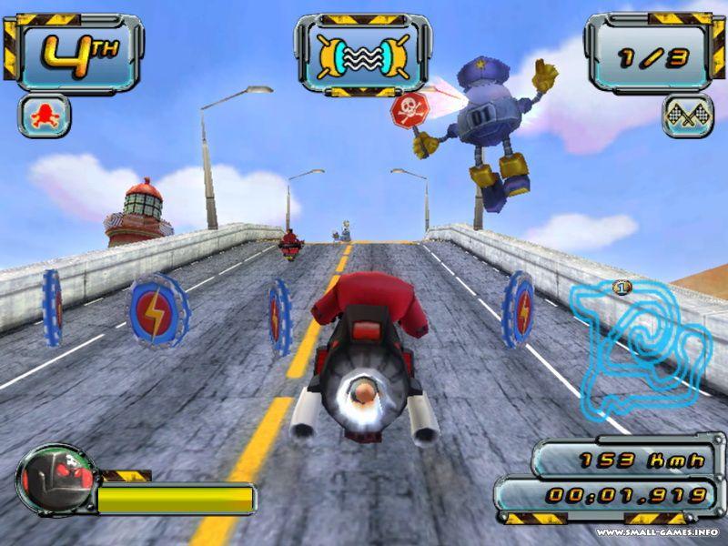 Crazy frog racer 2 полная версия » казуальные игры, детские игры.