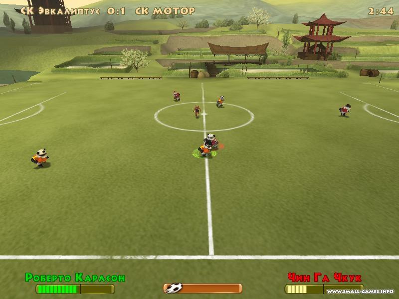 Скачать игру на компьютер убойный футбол