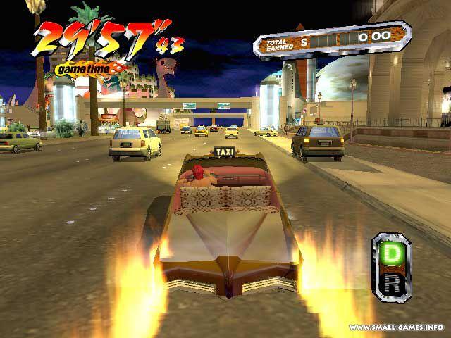 Скачать игру crazy taxi 3