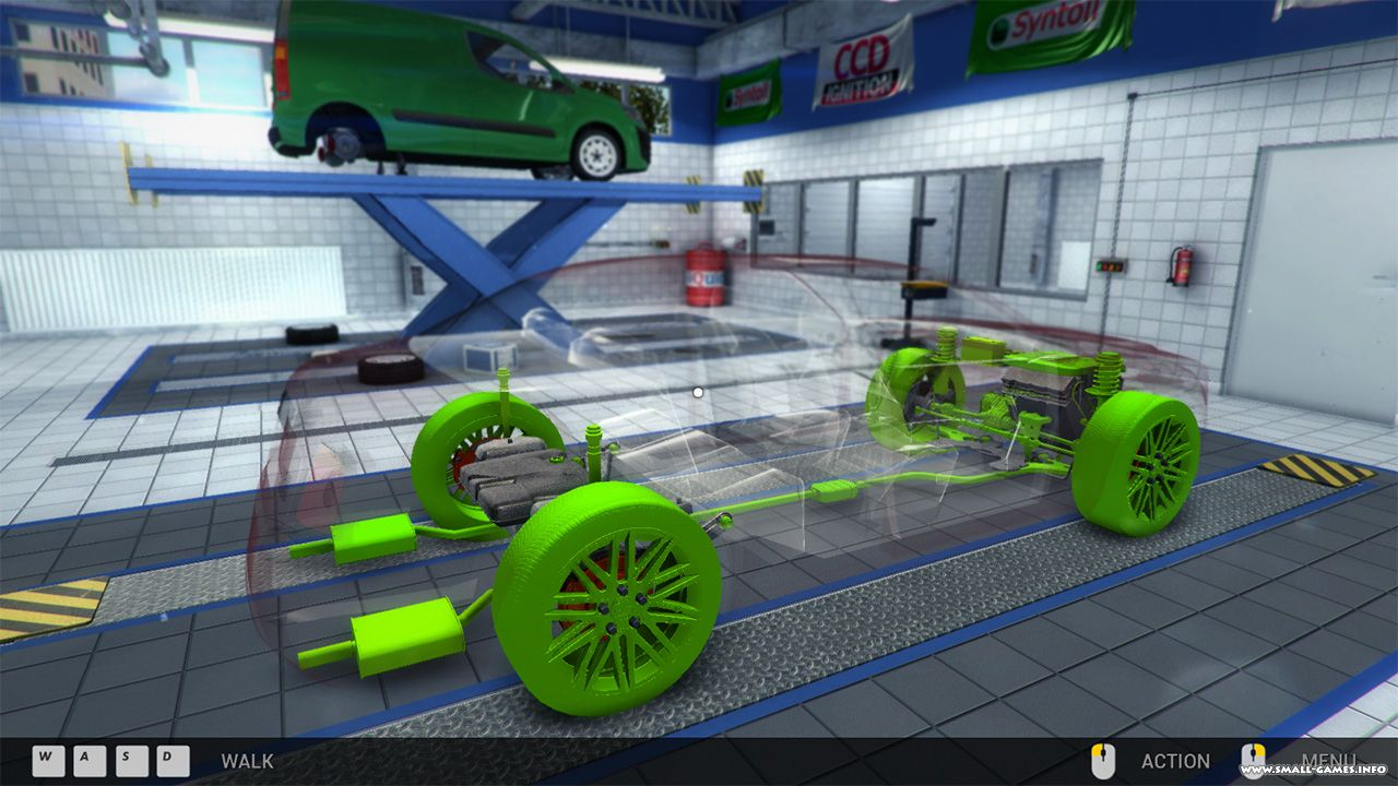 Car Mechanic Simulator 2014 Tek Link indir