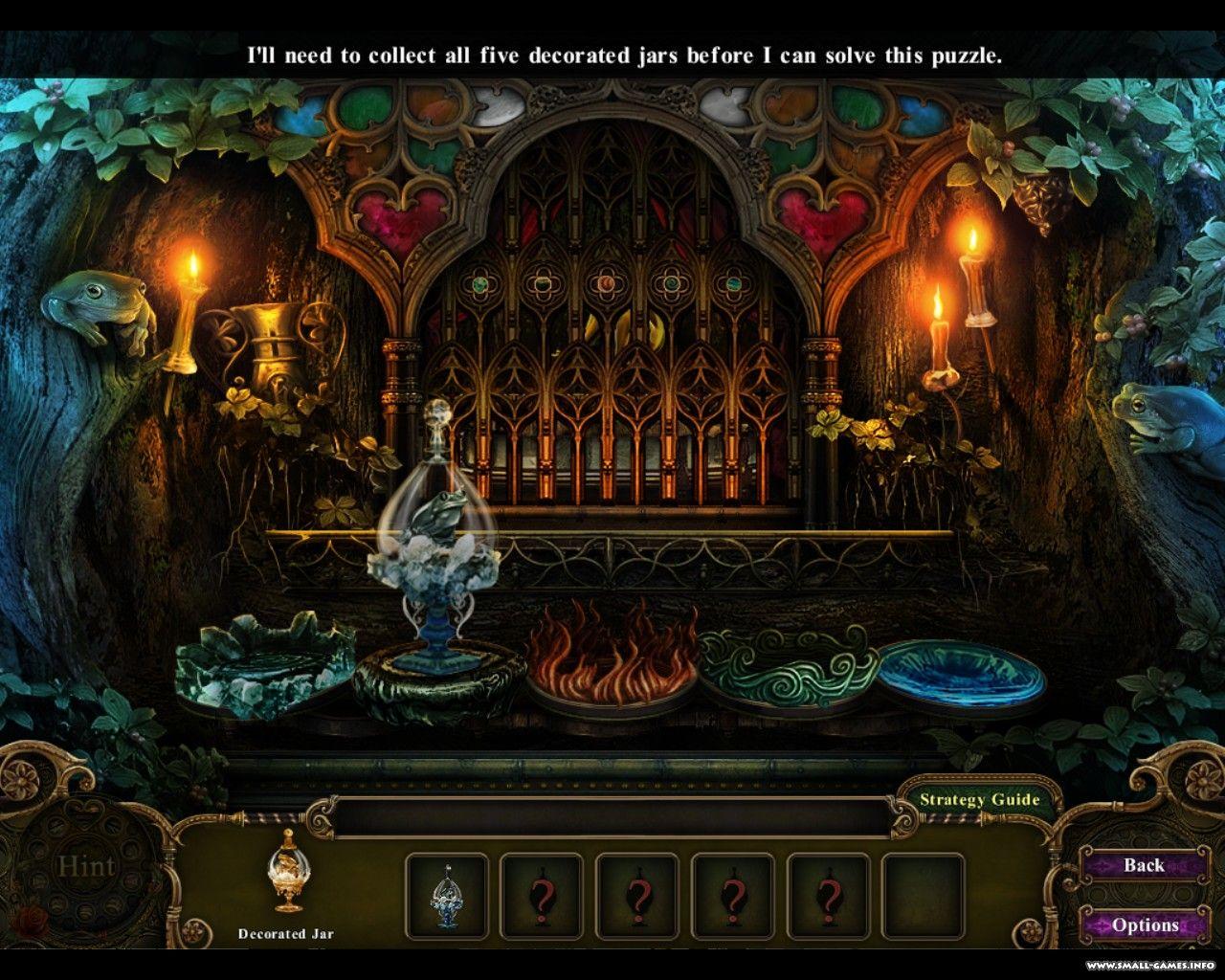 Темные Предания. Зачарованный Принц Прохождение Игры