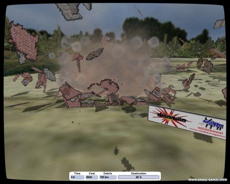 Скачать detonate симулятор разрушений через торрент