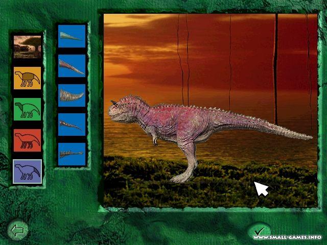 динозавры игра скачать