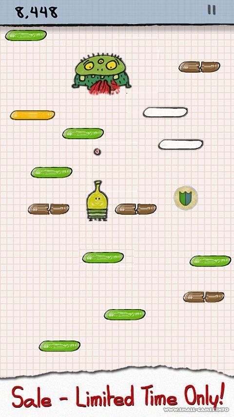 Дудл Джамп играть онлайн бесплатно Игра Doodle Jump