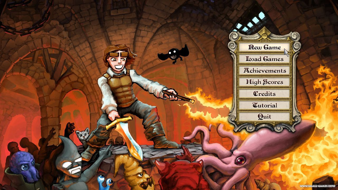 Dungeons of dredmor (2012) скачать через торрент игру.