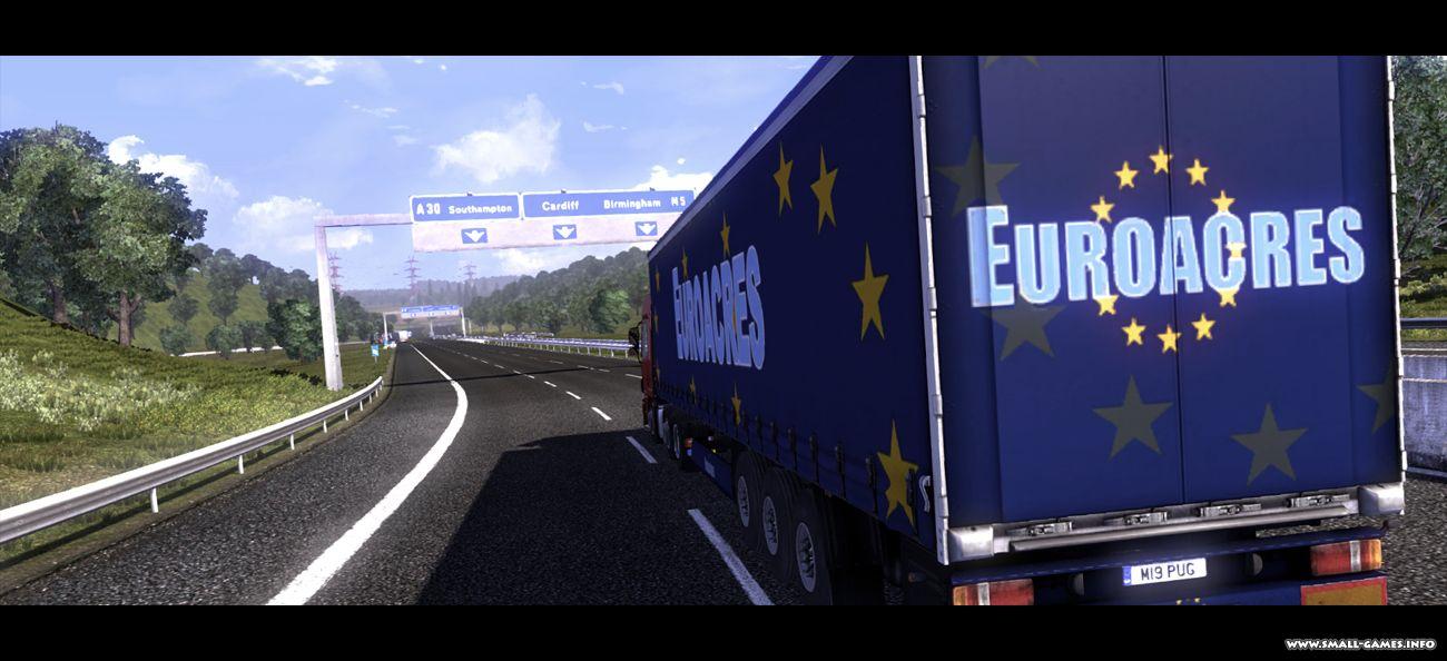 Мультиплеер euro truck simulator 2 (ets 2 онлайн).