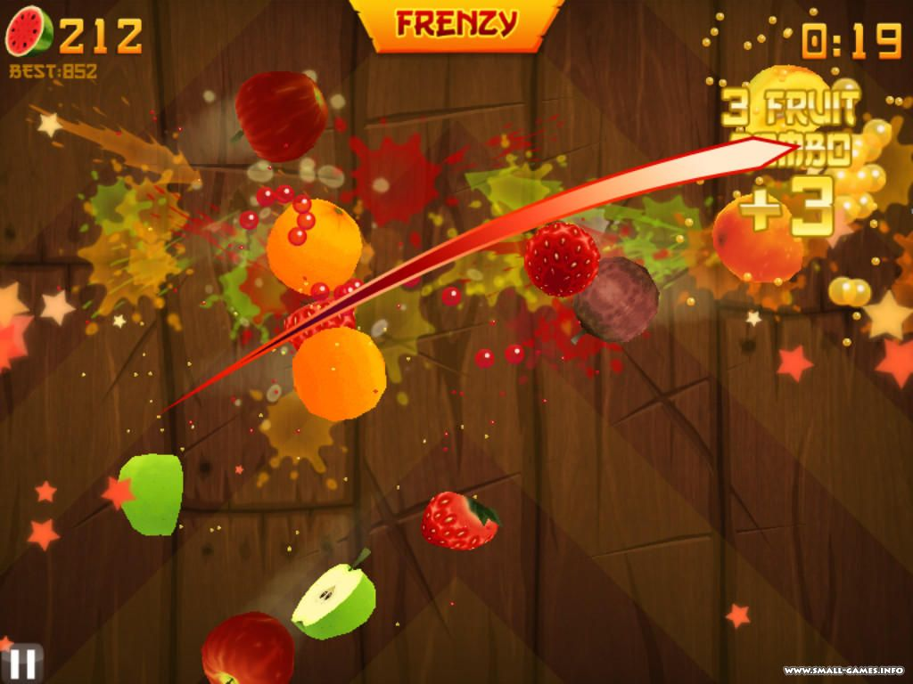 Fruit Ninja HD 2011 Portable Free MediaFire Download Link Game screenshot 4