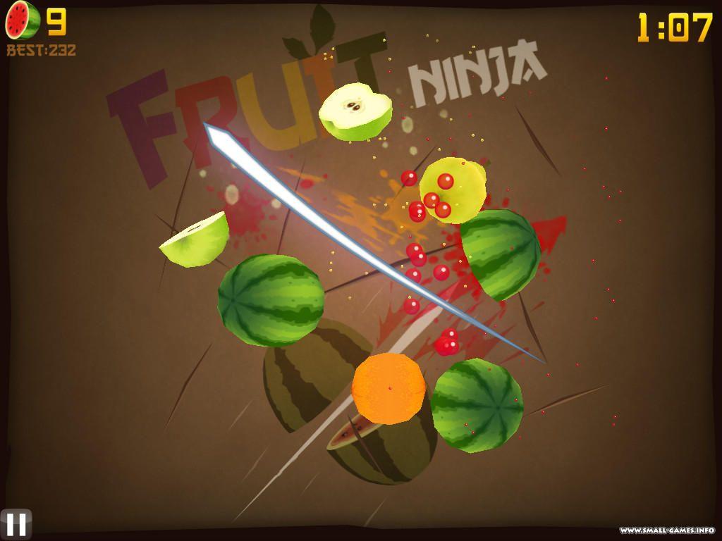 Скачать фруктовый ниндзя на пк