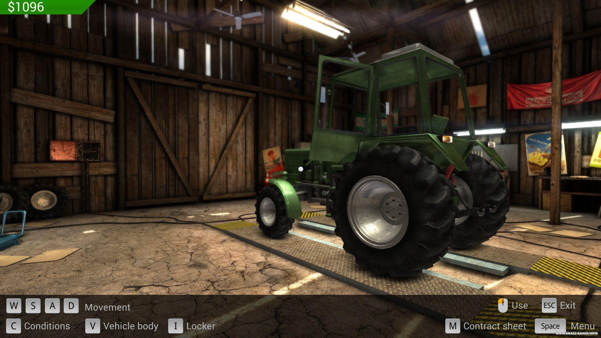 Видео про игру трактора 2015