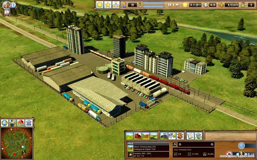 Landwirtschafts-simulator 2012 3d: details und screenshots