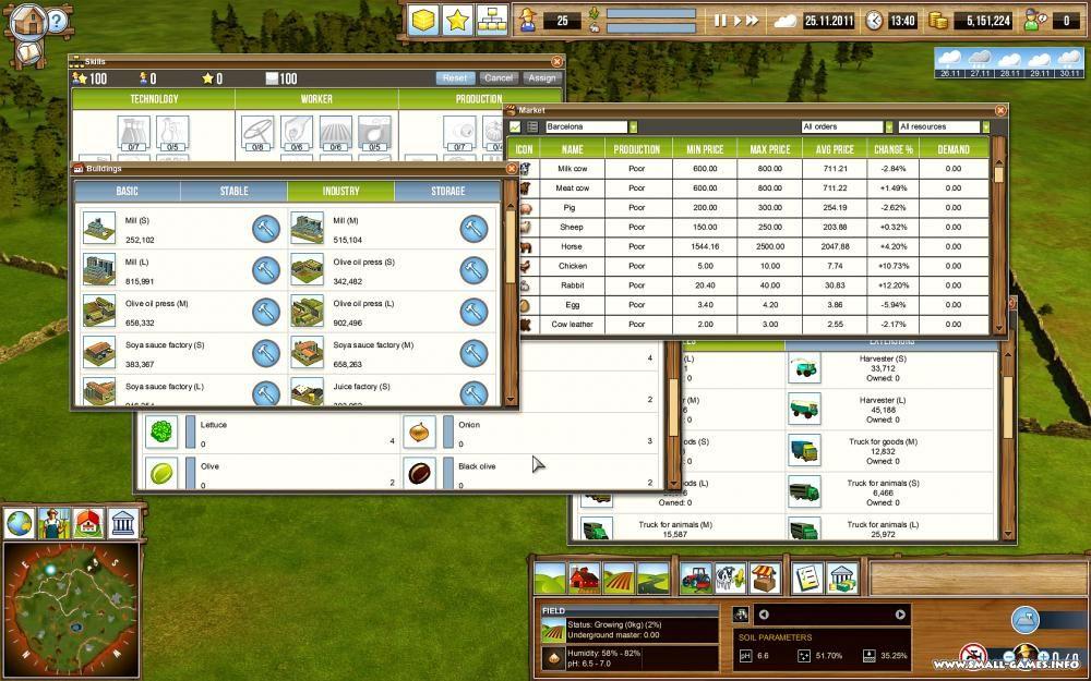 скачать игру farming giant