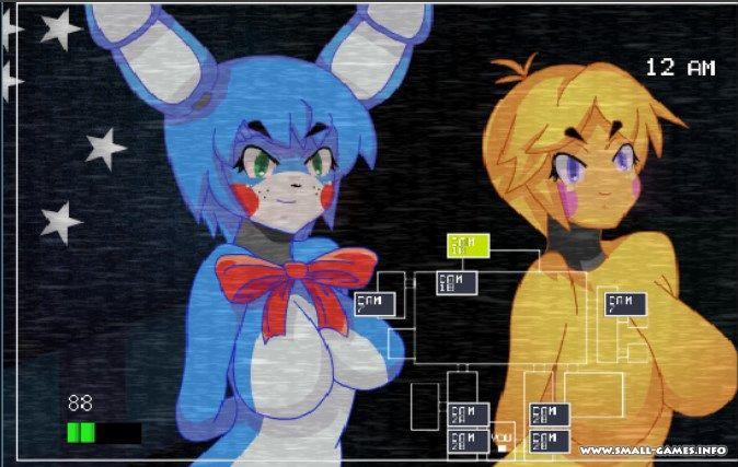 Скачать игру 5 ночей с аниме на андроид