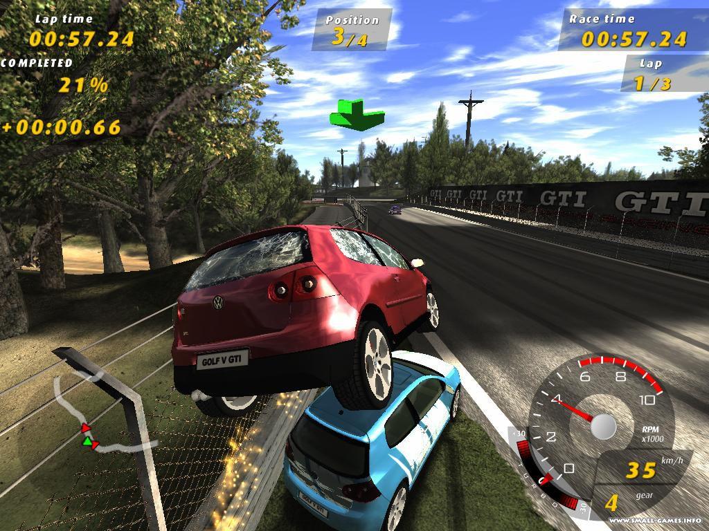 Gti club:supermini festa [2010, racing] скачать через торрент.