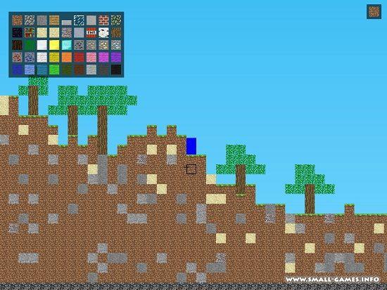 Играть майнкрафт 2д