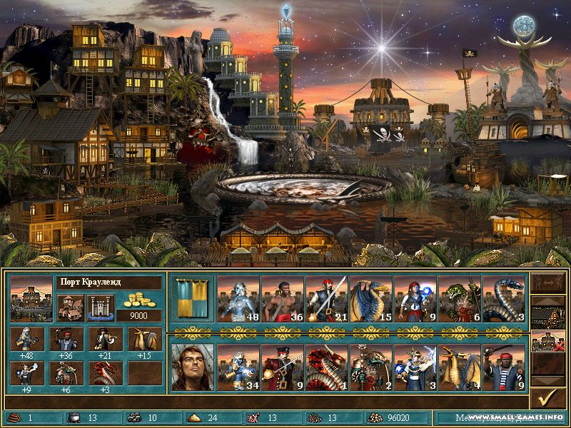 Heroes of might and magic 3. 58f wog + heroes chronicles + horn of.