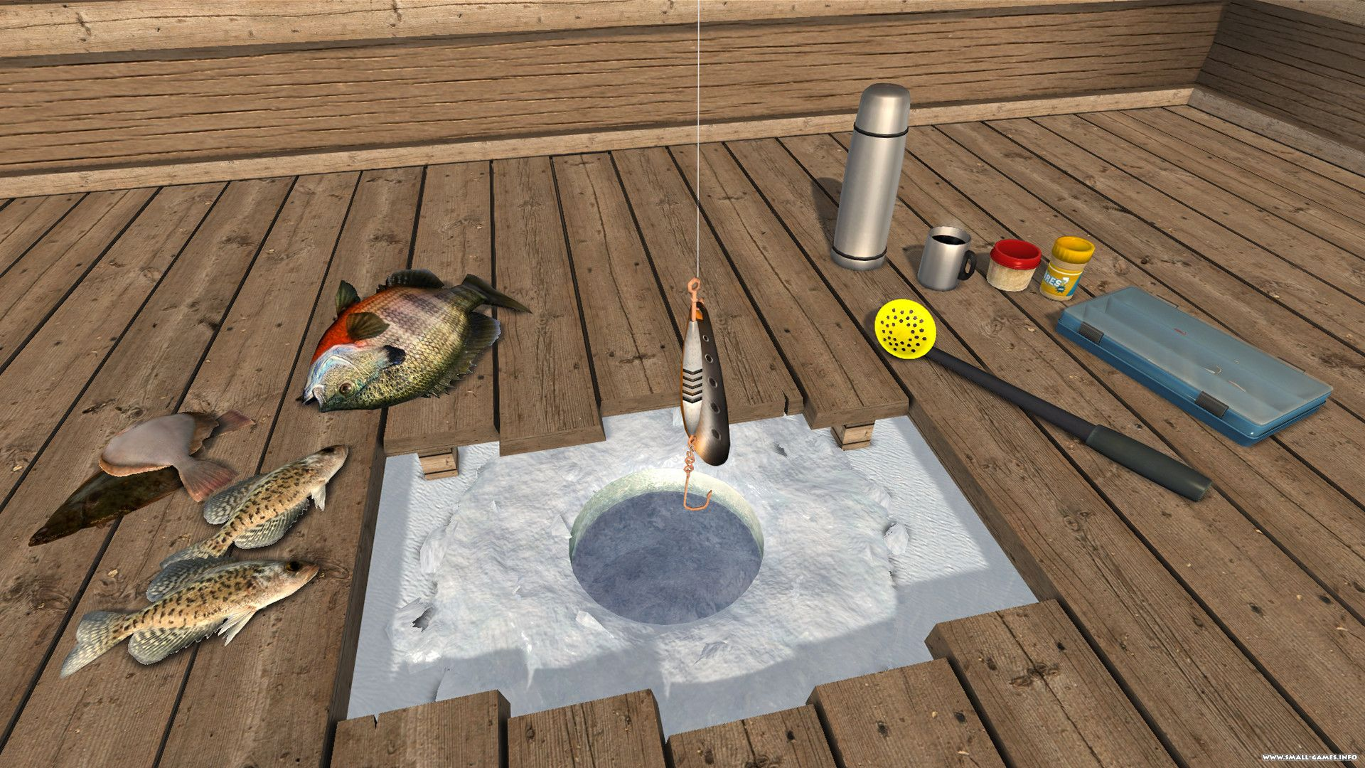 Ice lakes v1 7 0 for Ice fishing games free