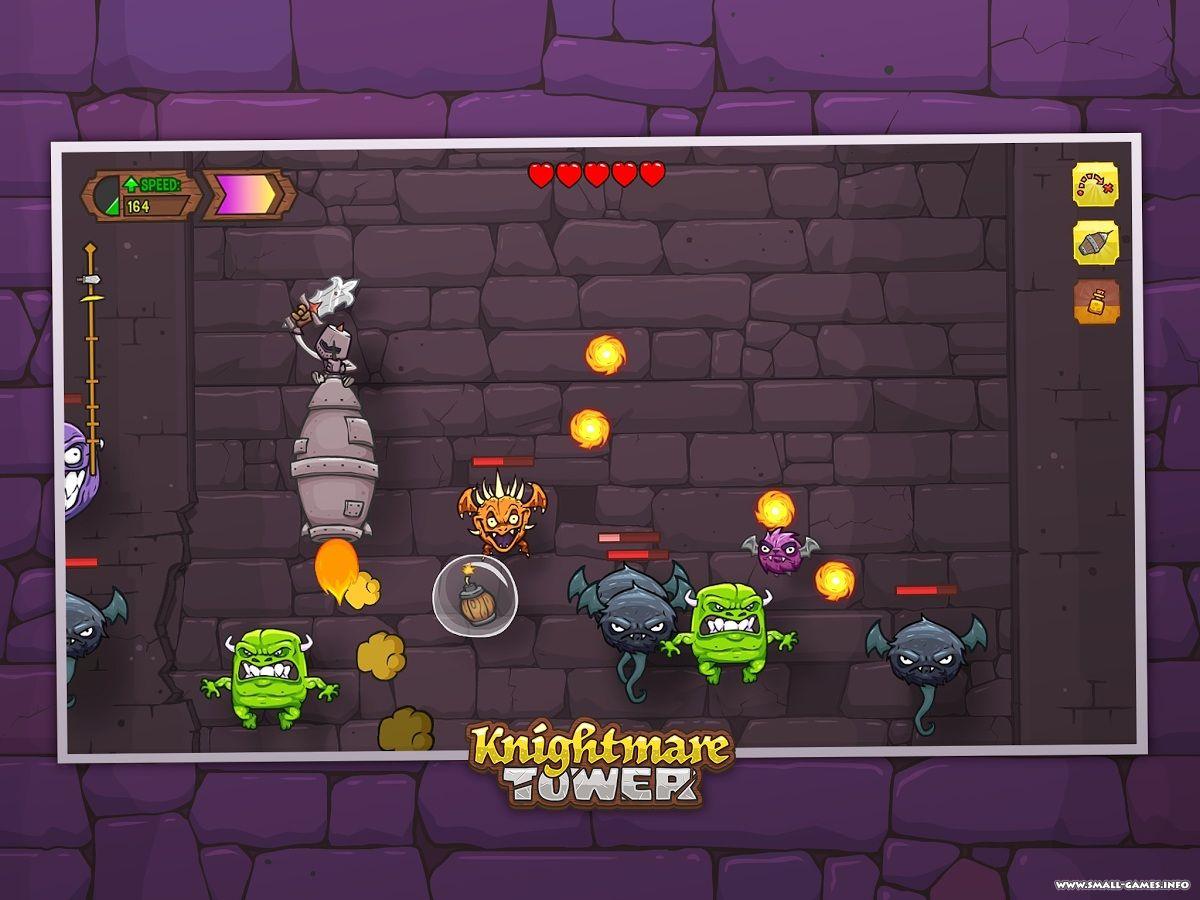 Knightmare tower на компьютер скачать торрент