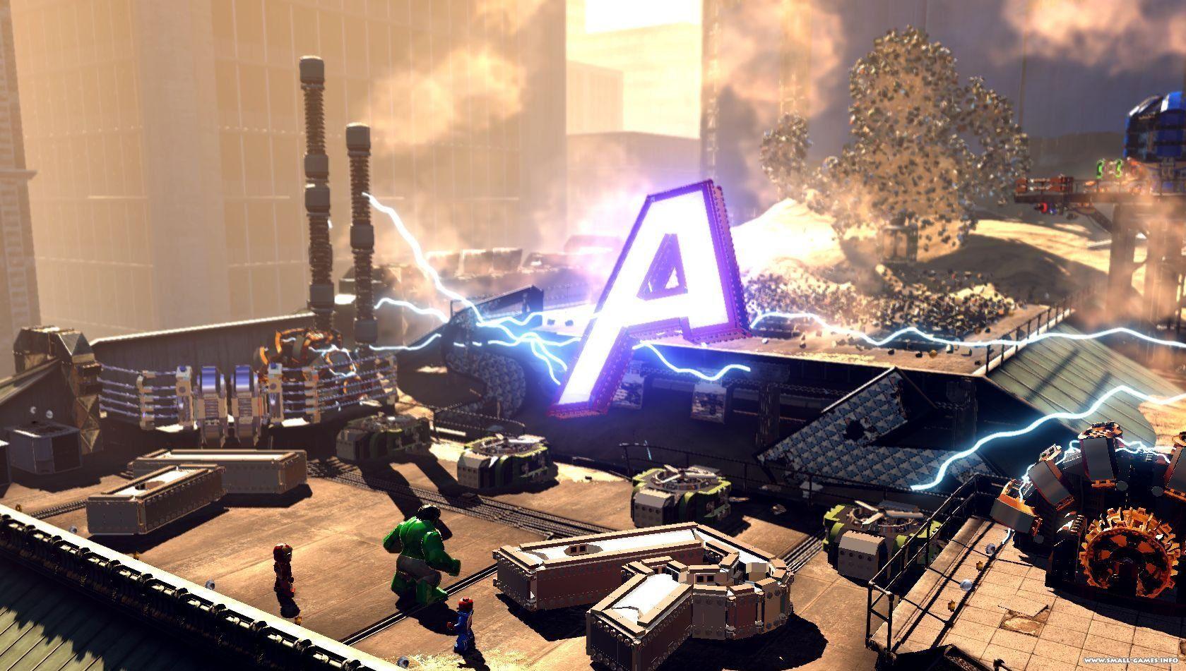 Скачать игру lego marvel super heroes демо