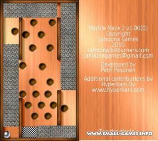 Kod marble maze
