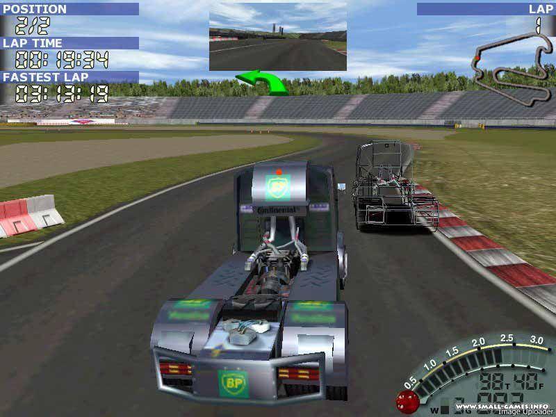 Mercedes-Benz Race Truck Скачать