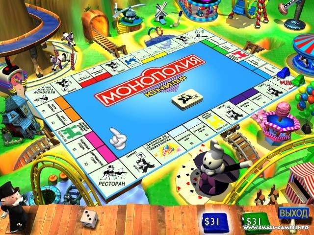 Игру Monopoly Junior Полная Русская Версия