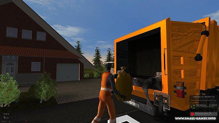 скачать игру симулятор мусоровоза