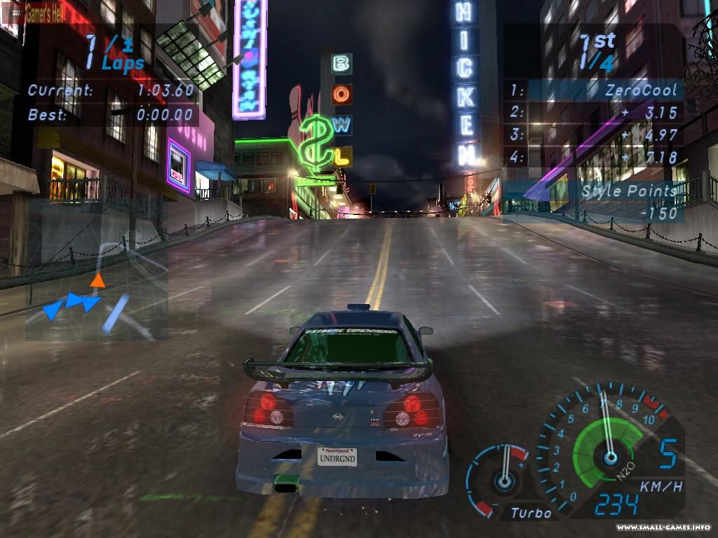 online games need for speed underground 2