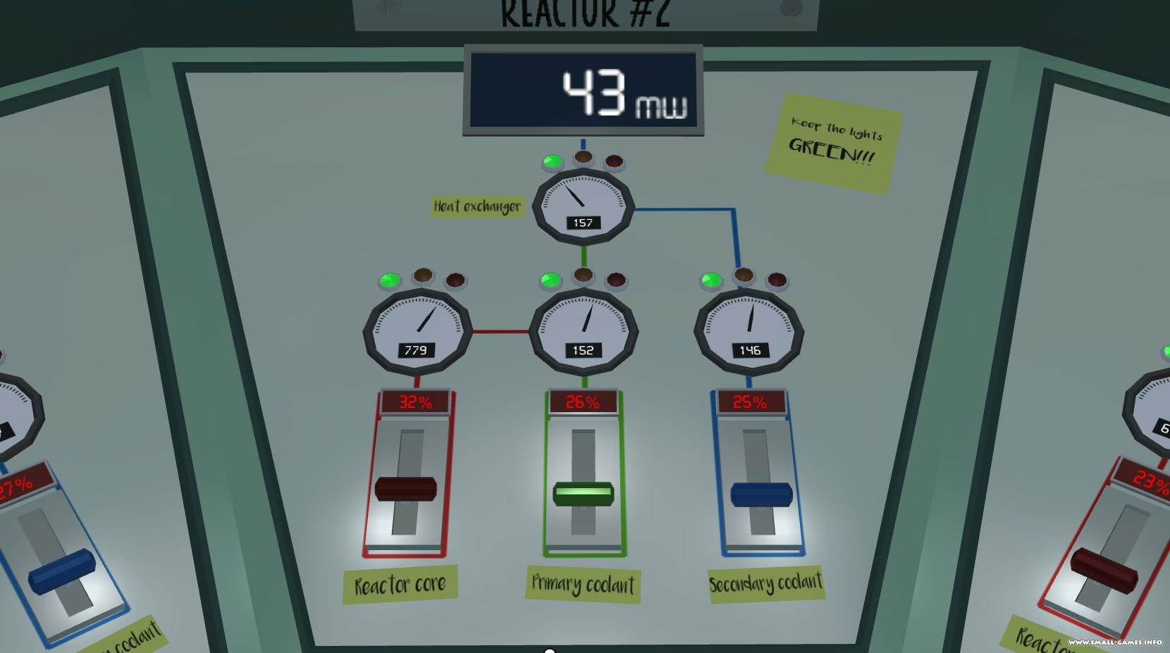Nuclear power plant simulator by devour.