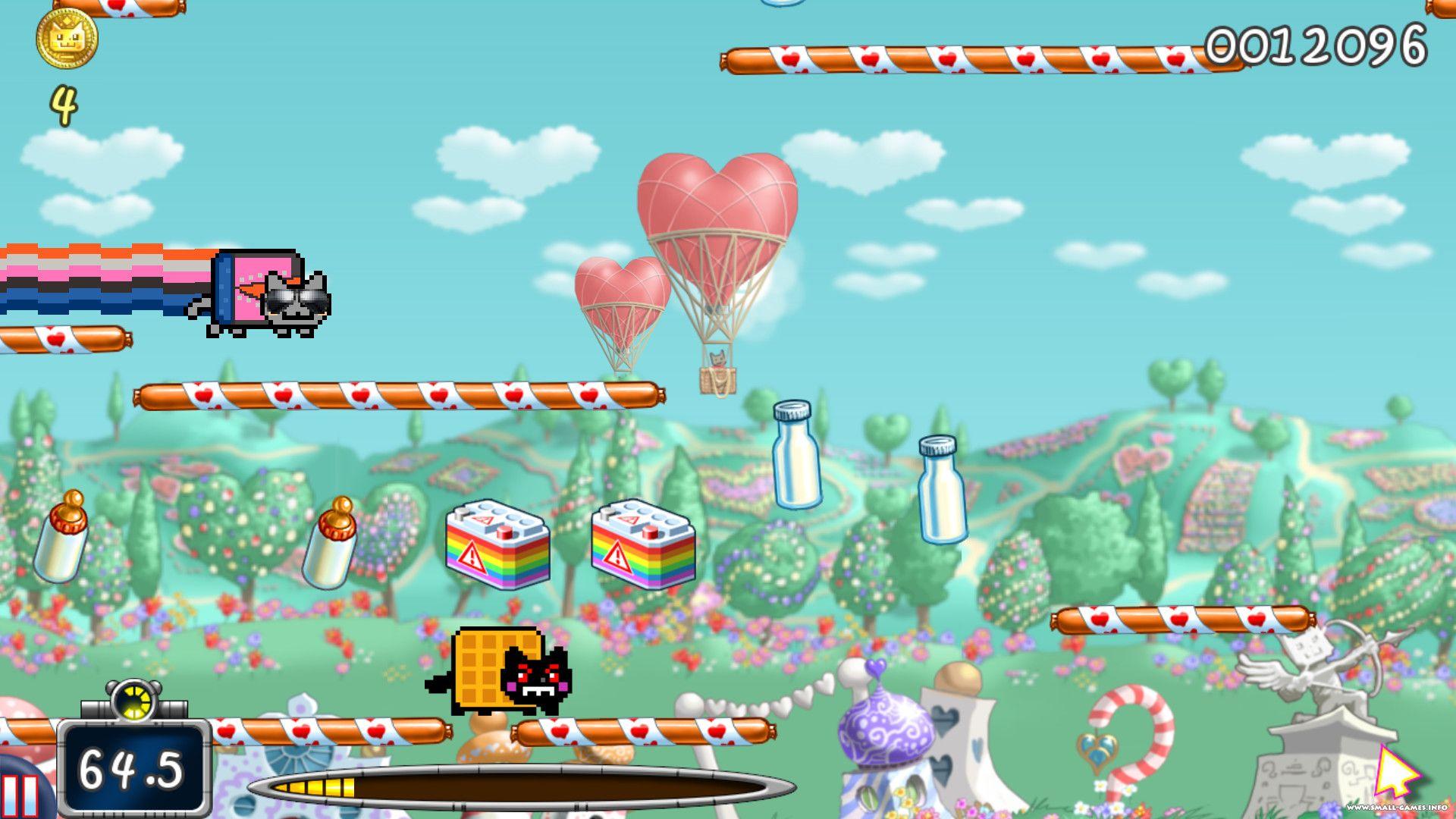 Nyan Cat Modes Game