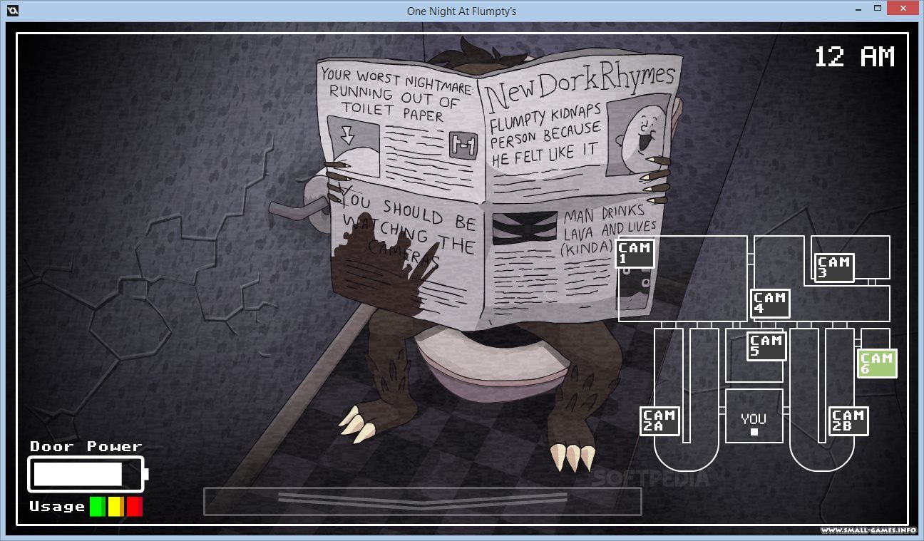 Скачать one night at flumpty's 2 на компьютер игру.