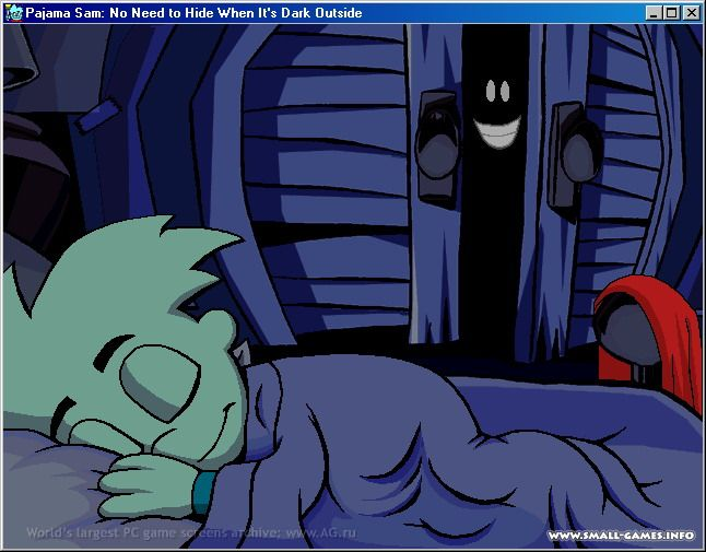 Pajama Sam In No Need To Hide When It`S Dark Outside ...