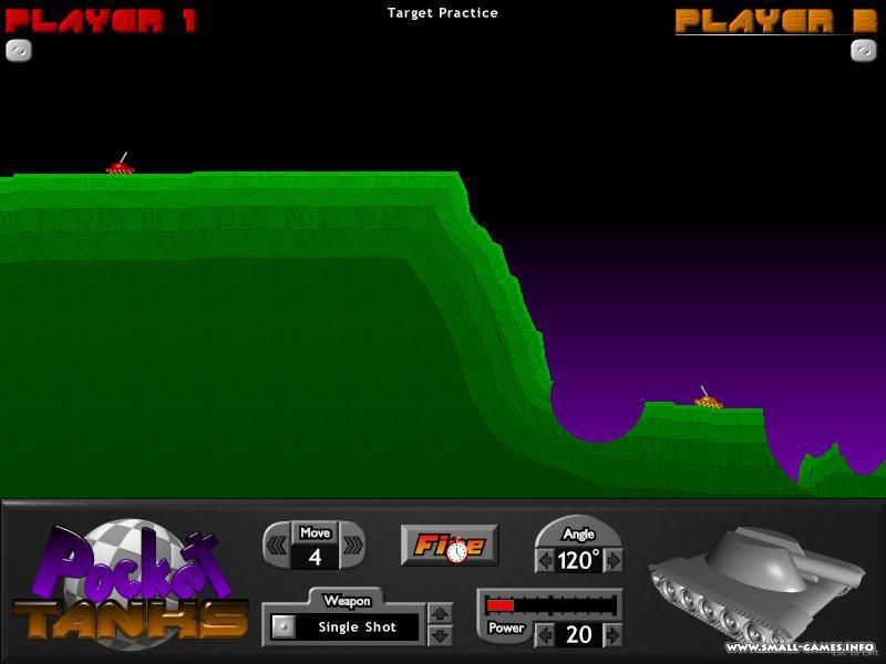 Игры pocket tanks