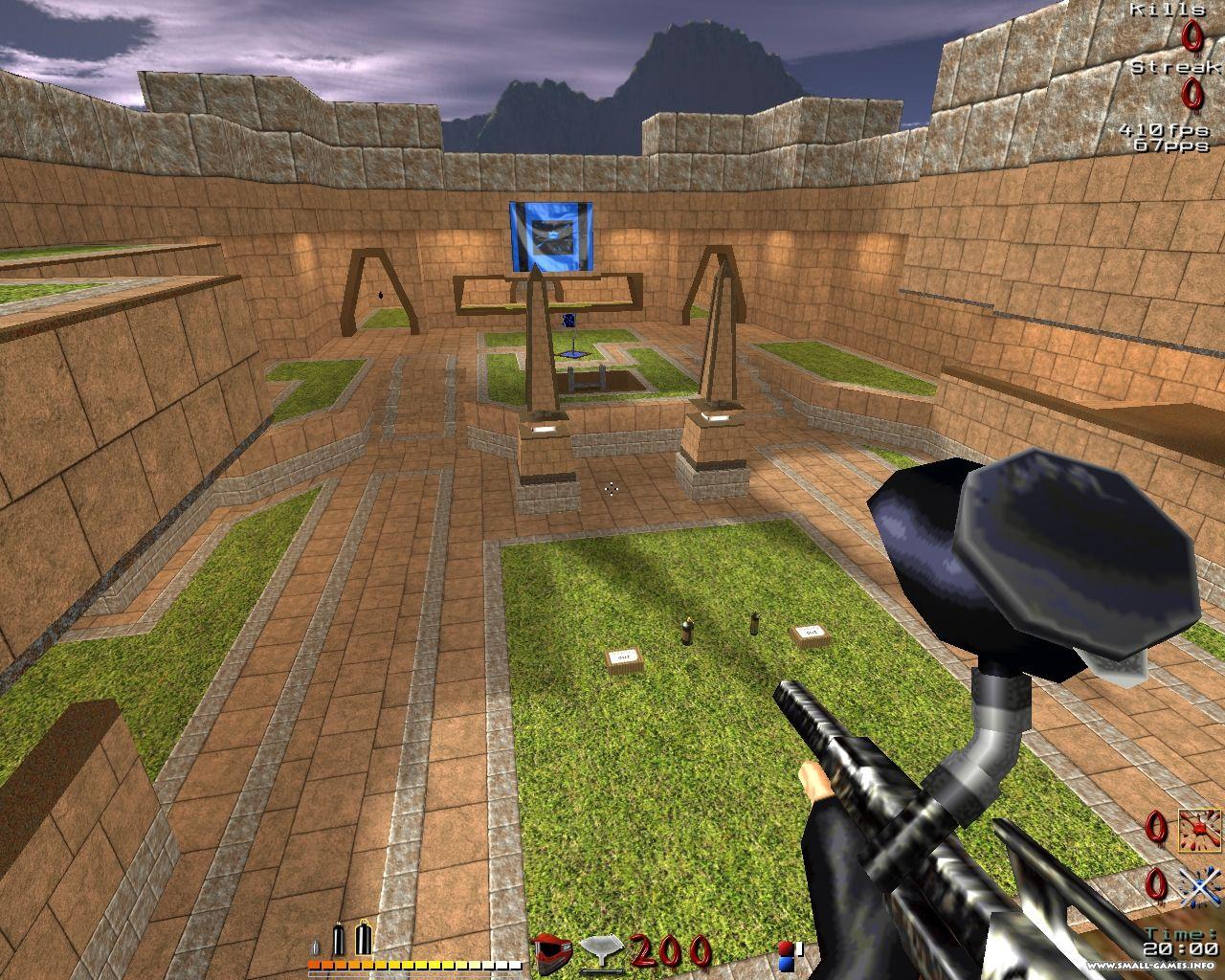 Скачать игру на компьютер бесплатно пейнтбол