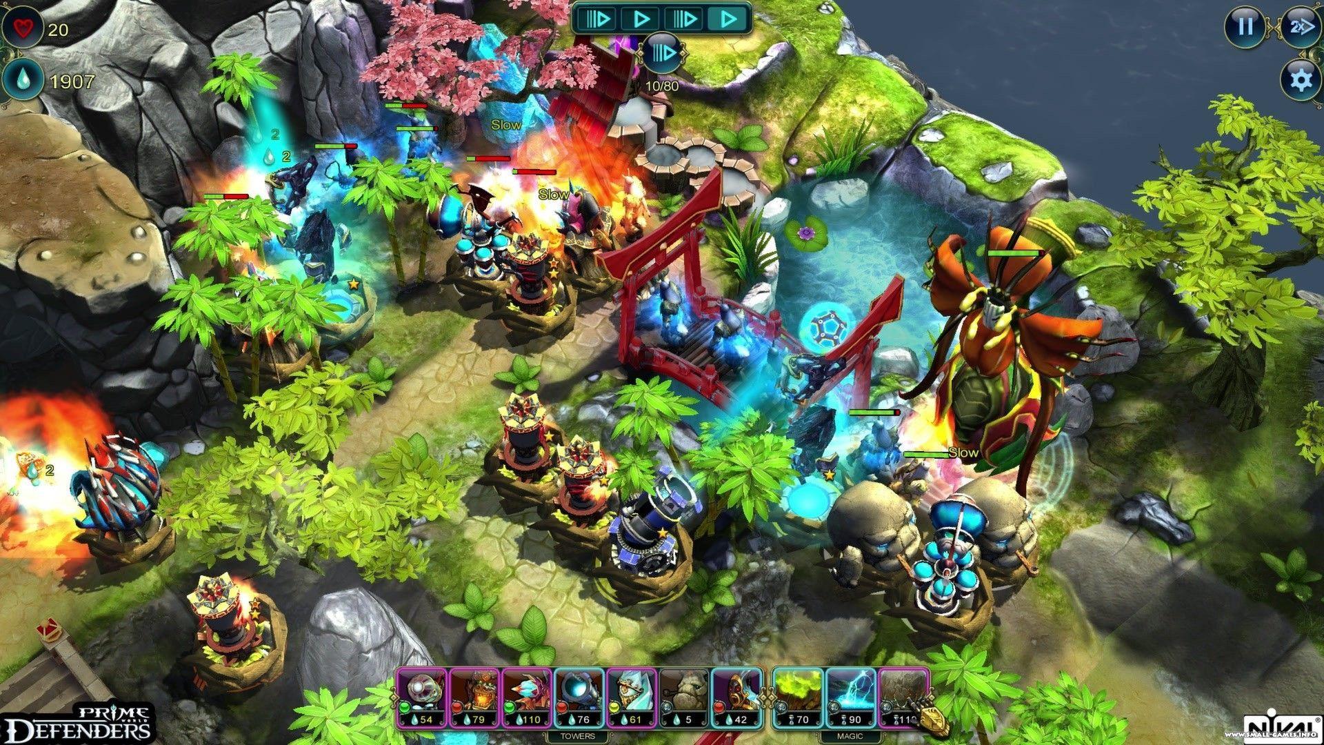 Prime world: defenders 2 на компьютер скачать бесплатно.