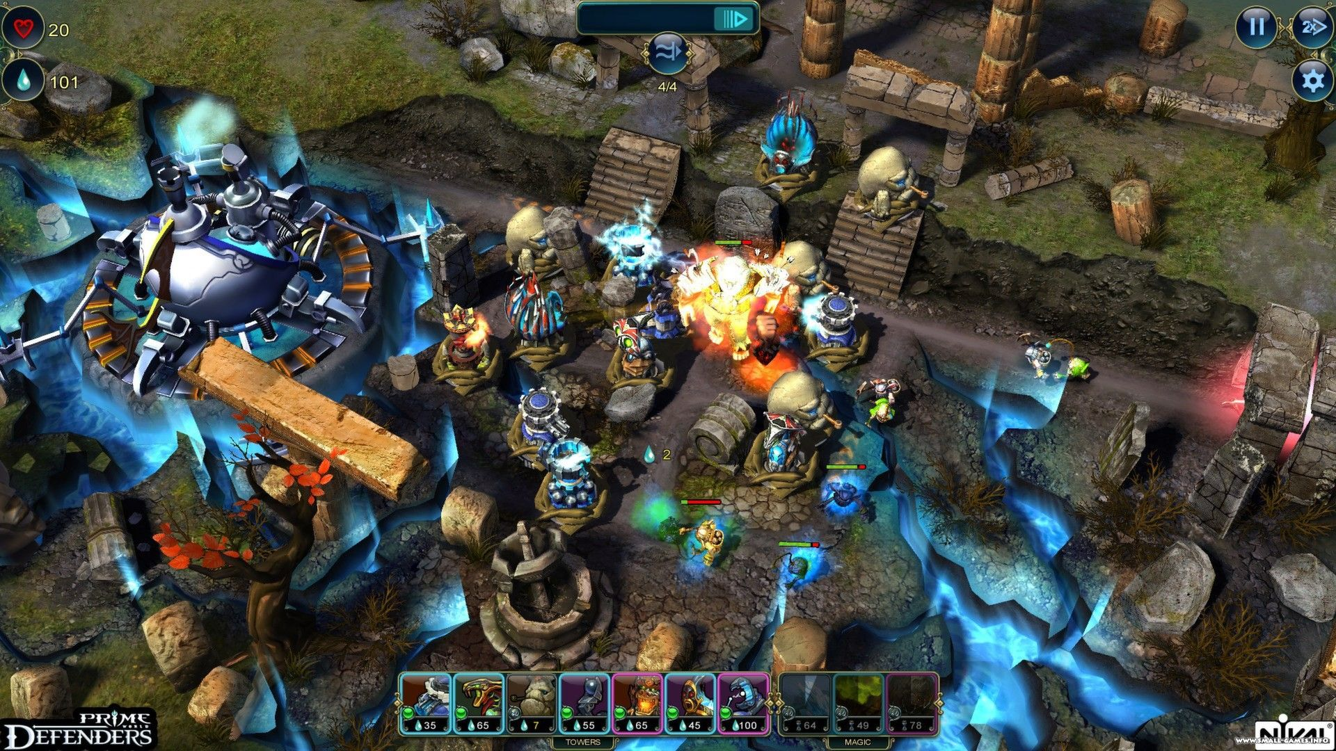 Tower defense game prime world: defenders 2 on android.